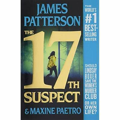 The 17th Suspect (Women's Murder Club) - Paperback / softback NEW Patterson, Jam