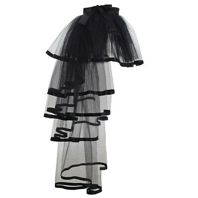 Victorian Crinoline Petticoat Gown Bustle Tutu Skirt Dress Underskirt Costume