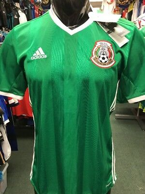 235c27a0419 ADIDAS MEXICO NATIONAL SOCCER TEAM 2016 COPA AMERICA MEN'S HOME ...