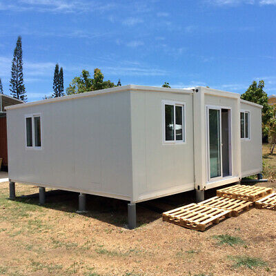 New Collapsible 5.5m x 6m x2.3m Container House Home Office Hotel Shipped by Sea