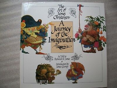 The Art of James Christensen, A Journey of the Imagination - with Dust Jacket