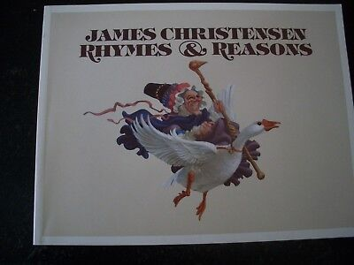 James Christensen - Rhymes & Reasons Annotated Mother Goose Paperback - Wear