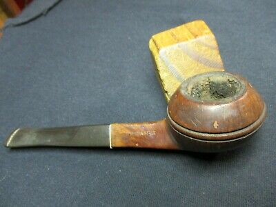 Vintage Smoking Pipe/supreme Deluxe  Algerian Briar/estate Pipe/good Used Pipe