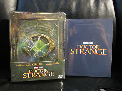 Doctor Strange 3d/2d Blu-Ray [ Checo ] Caja Metálica Nuevo + 6 Limited Ed. Art