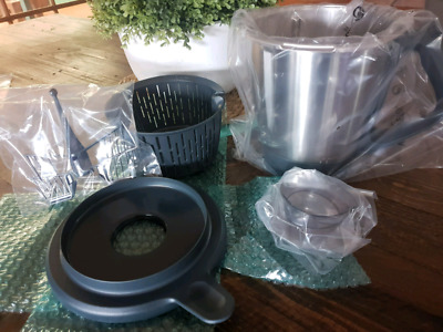 Thermomix TM5 2nd bowl blade and lid set. NEW in box
