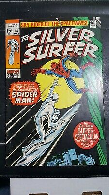 The Silver Surfer #14 (Mar 1970, Marvel)