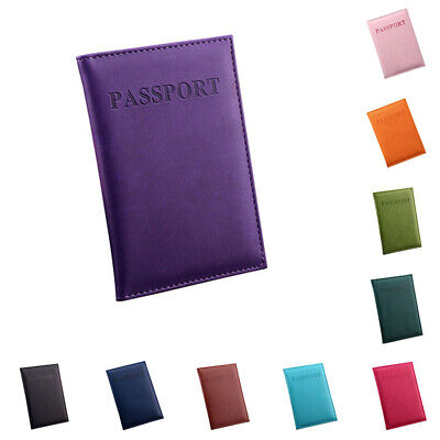 Classy Practical Travel Passport ID Card Cover Holder Case Protector Organizer