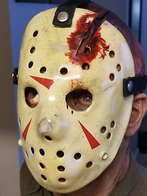 Friday the 13th The Final Chapter. Part 4 Jason Voorhees Hockey Mask.