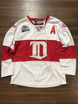 Detroit Red Wings 2009 Winter Classic Hockey Jersey - Pavel Datsyuk - Size  50 e1bc8e9d5