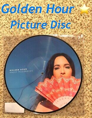Kacey Musgraves Golden Hour Limited Picture Disc Vinyl Record GRAMMY ALBUM NEW