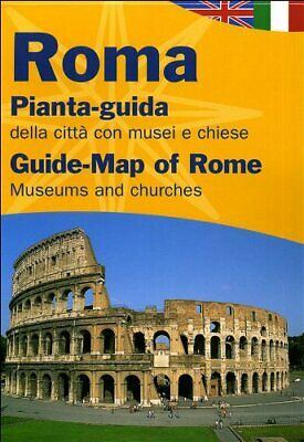 Rome (City Guide Maps of Italy) Sheet map, folded Book The Cheap Fast Free Post