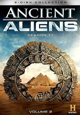 ANCIENT ALIENS 11 vol 2 2018: 11v2 - TV Series Season 13 (2018-2019) NEW R1 DVD