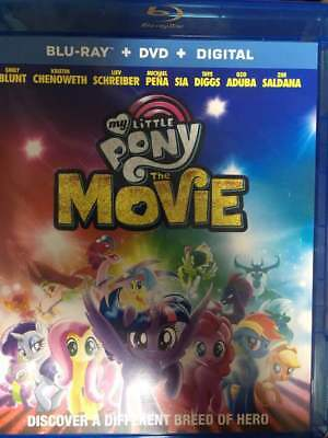 My Little Pony Movie Blu-Ray No DVD/Digital/Slip Like New FAST FREE Combine SHIP