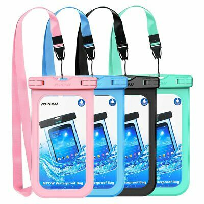 Mpow Floating Underwater Waterproof Dry Bag Pouch Case For iPhone Samsung Phone