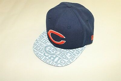 Chicago Bears - New Era 59Fifty Youth Boy s 2014 Draft Day Navy Hat Cap 6 5 d91c0b9d4