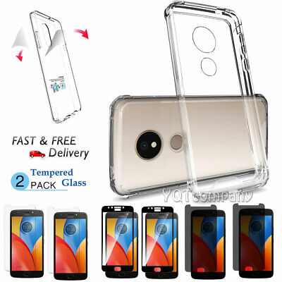 Shockproof Slim TPU Rubber Silicone Gel Soft Clear Case Thin Cover For Motorola