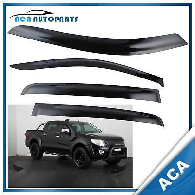 Weather Shield Weathershields for Ford Ranger PX MK1 MK2 2011-17 Wind Deflector