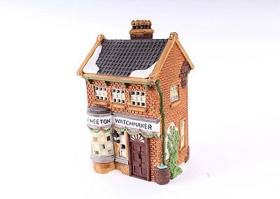 "Department 56 Heritage Village Dicken's Village Series ""Geo Weeton Watchmaker"""