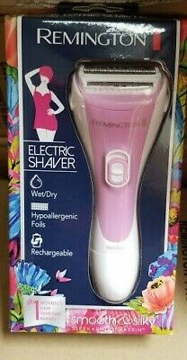 Remington Smooth and Silky Rechargeable Women Lady Shaver System, WDF4821