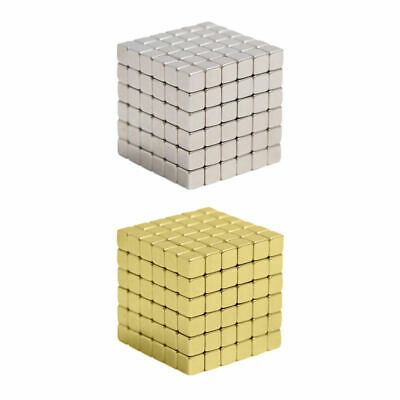 216Pcs 3/4/5mm Magic Magnets Square Neodymium 3D Puzzle Cube Stress Relief HUY