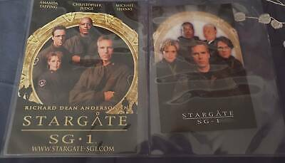 Trading Cards - Stargate SG1 - Large promotional cards- free shipping