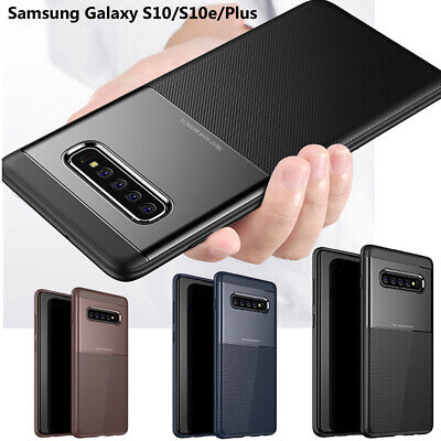 Samsung Galaxy S10, S10 Plus, S10e Shockproof Rugged Armor [Slim Fit] Case Cover