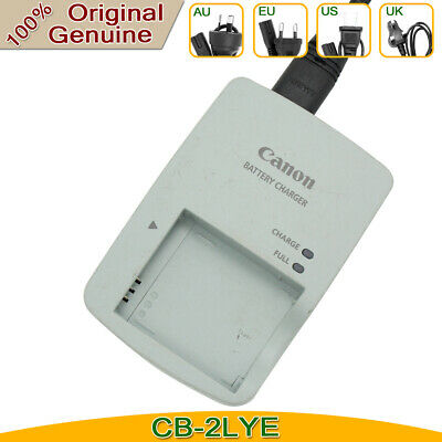Genuine Original Canon CB-2LYE Charger for NB-6L NB-6LH IXUS85IS S95 battery