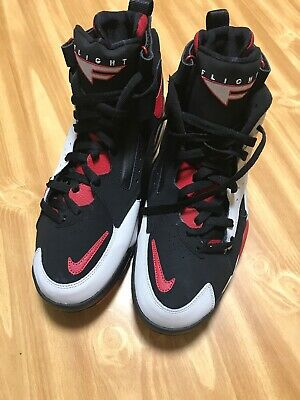 newest 70642 752c1 Nike Air Maestro II LTD Mens AH8511-002 Black Grey Red Basketball Shoes  Size 12