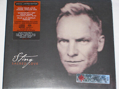 STING: SACRED LOVE Special Limited Edition 13-Track Hybrid