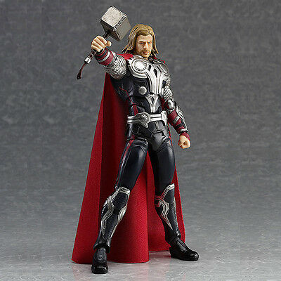 Marvel Movie The Avengers Theme Thor 7'' PVC Action Figure Collection Model Toy