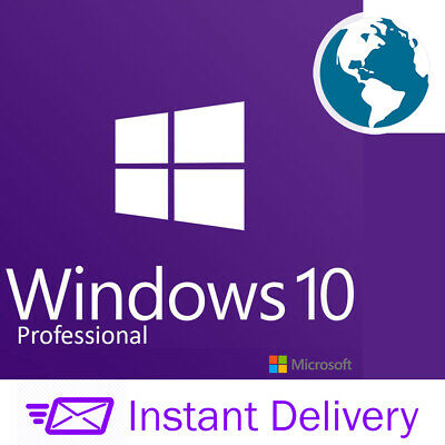 Retail Windows 10 Professional Pro Key Instant Activation Code Win10 Pro Key