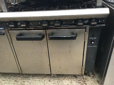 Blue Seal Gas Cooker Oven Range in Stainless Steel with 6 Burners And Oven