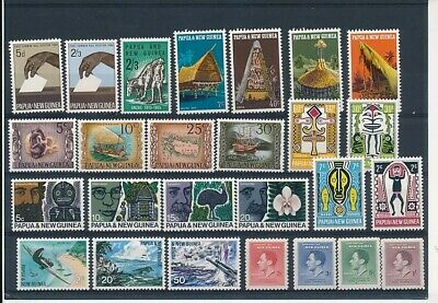 D248428 Papua New Guinea Nice selection of MNH stamps