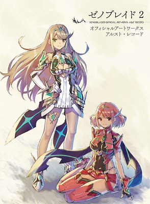 PSL Xenoblade 2 Official Art Works Alst Record Book Japan
