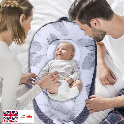 Baby Pod Nest Newborn Reversible Cocoon Bed Sleep Kokon Cushion UK Stock