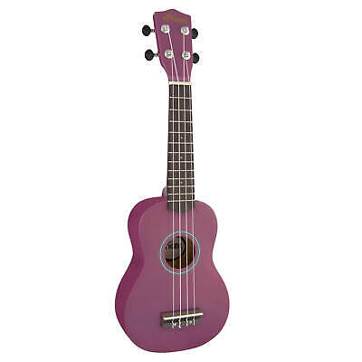 Tiger Soprano Ukulele for Beginners in Purple
