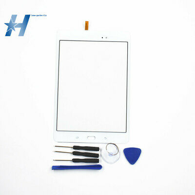 """New For Samsung Galaxy Tab 8.0"""" SM-T350 Touch Screen Digitizer Glass White"""