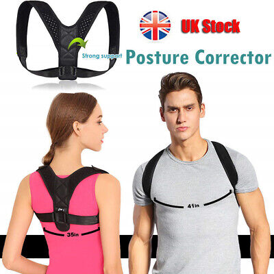 Body Wellness Posture Corrector Adjustable Shoulder Back Support Brace Belt