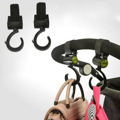 Baby Stroller Hook  Multifunctional 360 Basket Strap Bag Hanger Grip Accessories
