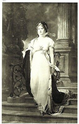 Queen Louise of Prussia - Tinted Lithograph after Gustav Carl Ludwig Richter