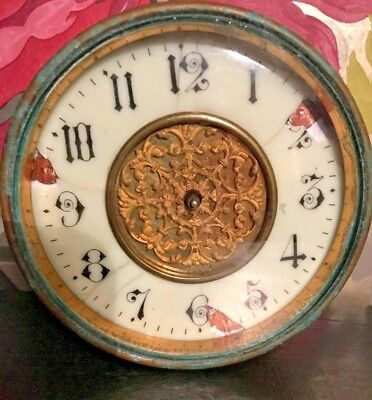 Antique clock in need of restoratation very old vintage  L&F  Clock ??