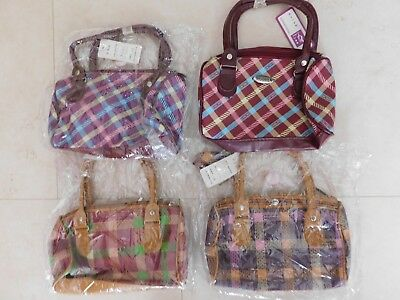 4x BULK LOT BRAND NEW Small/Med Ladies/Girls Cute Vinyl Hand Bags $48 WORTH(B)