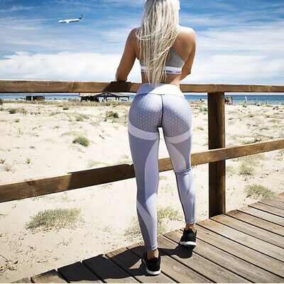 358| Legging Fitness Pantalon Femme Workout Yoga Pant Vêtement Sport Musculation