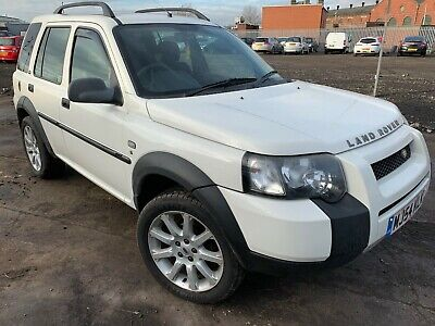 2004 '54' Landrover Freelander 2.0 Td4 Automatic S/w In White 5 Door