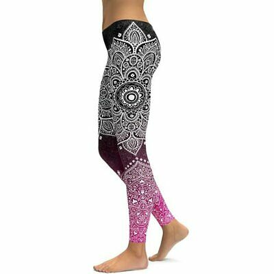 371| Legging Fitness Pantalon Femme Workout Yoga Pant Vêtement Sport Musculation
