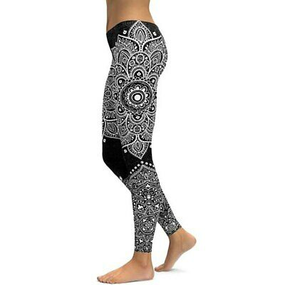 372| Legging Fitness Pantalon Femme Workout Yoga Pant Vêtement Sport Musculation