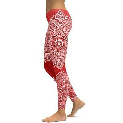 374| Legging Fitness Pantalon Femme Workout Yoga Pant Vêtement Sport Musculation