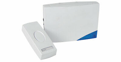 Mercury Wireless Door Chime with Light Indicator (16 Melodies)
