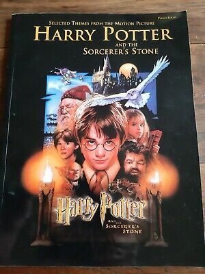 Harry Potter and the Sorcerer's Stone Piano Solos sheet music book (paperback)