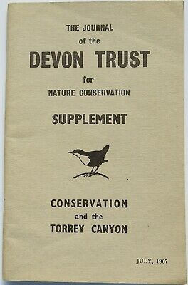 Conservation and the Torrey Canyon, bird, oiling, Devon Trust, nature